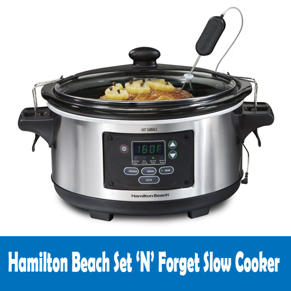 Hamilton Beach Set 'N' Forget Slow Cooker Review
