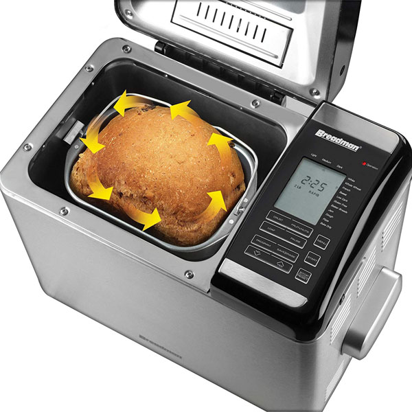 Breadman TR2500BC Ultimate Plus 2-Pound Stainless-Steel Convection Breadmaker Review