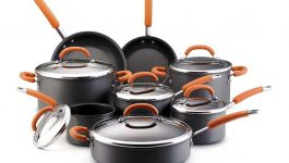 Rachael Ray Hard Anodized Nonstick 10 Piece Cookware Set