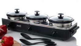 Crock-Pot SCRBC750-BS Trio Slow-Cooker Server Review